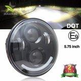 DOT Emark утвердил потрясающее качество света DRL 5.75дюймовый LED фары для мотоциклов