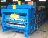 La capa doble del cinc del metal modifica el rodillo de la hoja para requisitos particulares de la azotea que forma la máquina