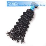 Het Braziliaanse Diepe Krullende Maagdelijke Haar van 100% (kbl-BH-CW)