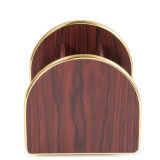 Premium All Purpose Wooden Storage Holder with Removable Plate Base