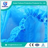 使い捨て可能な反スリップCPEの防水靴カバー