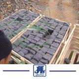 As Pavimentadoras de basalto negro Zhangpu Huron Cubestone, Bluestone Cubestone