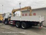 Vrachtwagen van de Kraan van Sinotruk HOWO 4*2 de Vrachtwagen Opgezette met Kraan voor Verkoop