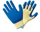 Строка из хлопка из гильзы цилиндра с помощью захвата для рук с покрытием из латекса строительство перчатки