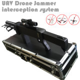 Las bandas 4 pistola láser de infrarrojos del telescopio de forma de sistema de intercepción de aviones no tripulados Uav Jammer