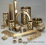 銅の掘削機のためのOiliteの真鍮の青銅色のグラファイトによって埋め込まれるブッシュ