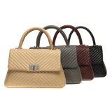 Gesteppte Frauen-Handtaschen-Tendenz PU-Soem-Manfacuturer 2018