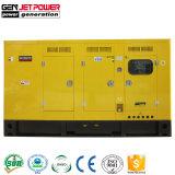 Prezzo insonorizzato elettrico diesel silenzioso eccellente dei generatori di potere 80kw 100kVA