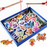 تربيّة مدينة لعب جديات [سلك سكرين] طباعة خشبيّة مغنطيس سمكة تصميم عبث صيد سمك مموّن
