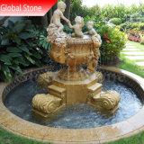 Sculpture de Pierre de marbre Fontaine à eau (GSF-158)