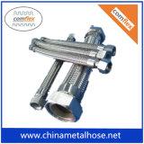 Tubo flessibile del metallo flessibile di Corruaged dell'acciaio inossidabile con i montaggi