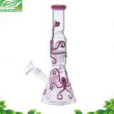 Neuer Entwurfs-Krake-Glasbecher-rauchendes Wasser-Rohr