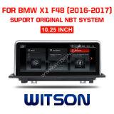 Witson BMW coche de la gran pantalla DVD 10,25 para el BMW X1 F48 (2016-2017)