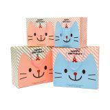 Настраиваемый логотип бумажных упаковочных материалов подарочный пакет с бумаги String (YH-PGB069)