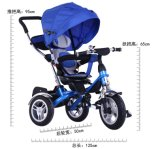 Fr71 Bébé Enfant Tricycle de certificat