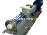 Haute Pression pompe de rotor hélicoïdal vis unique avec entonnoir