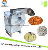 Kfc incendies français Making Machine, de légumes Chips de pommes de terre de la faucheuse de carotte Machine de coupe