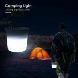 Noche de Luz LED recargable USB semillero de silicona Camping Luz Pat