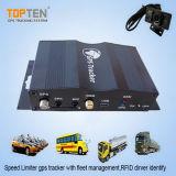 El GPS vehículo Tracker con seguimiento online, el nivel de combustible y sensor de temperatura, la RFID (TK510-LE)