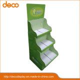 Memorizzare la visualizzazione cosmetica di vendita al dettaglio di schiocco del banco di mostra del cartone della visualizzazione del documento dell'alimento per vendita al dettaglio