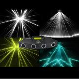 Luce laser decorativa della fase della discoteca del DJ di natale
