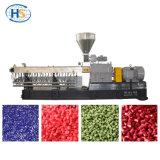 Colorare il granulatore gemellare di plastica di Masterbatch di colore della vite del CaCO3 Powder+