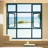 Aleación de aluminio/aluminio Dlazing Doble salto térmico de la ventana
