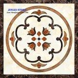 Reticolo di mosaico di marmo di pietra naturale dell'intarsio del medaglione del getto di acqua