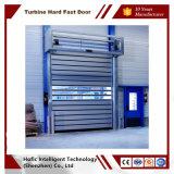 China rápido de la puerta de espiral con aluminio