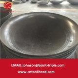 01-25 elliptique en acier au carbone fin de partie intégrante de la tête de formage