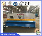 Máquina de corte da guilhotina hidráulica, máquina de estaca QC11Y-4X3200 da placa de aço