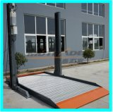 2 elevatore dell'automobile di parcheggio della strumentazione del paletto del pavimento due
