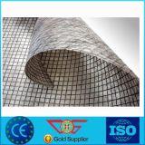 Fibra de vidrio compuesta Geogrid con el geotextil no tejido