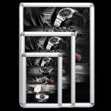 frame de alumínio fixado na parede da foto do perfil de 20mm