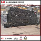 Casilla negra y tubo/tubo rectangulares