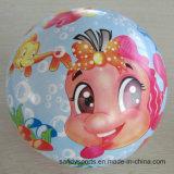 かわいいPVC膨脹可能なおもちゃの完全な印刷の球