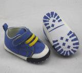青く標準的な赤ん坊靴Ws1030