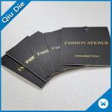 衣類ファブリックのための熱い押す金のペーパー品質表示票