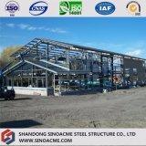 Stahlkonstruktion für zweistöckiges Lager mit Kabinendach
