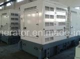 Супер молчком комплект генератора 500kw/625kVA 50Hz охлаженный водой Cummins тепловозный