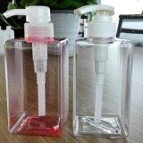 botella del cuadrado de la botella del envase de plástico 450ml PETG