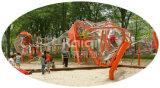 De OpenluchtdieSpeelplaats van de Kinderen van Kaiqi met Stainles Netto Kanaal, Dia's evenals Andere Spelen wordt gecombineerd (KQ60123A)
