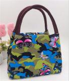 Нейлоновые цветы женская сумка полотенного транспортера