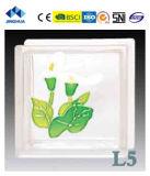 Высокое качество Jinghua художественных L-1 Окраска стекла блок/кирпича