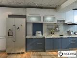 Линейные прямой Modern Home Отель мебель из дерева острова кухня кабинет