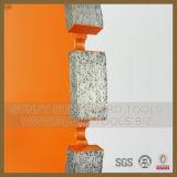 Het laser Gelaste Blad van de Cirkelzaag van de Diamant voor Concreet/Gewapend beton