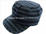 파랗고와 까만 줄무늬 육군 모자 (YYCM-120304)