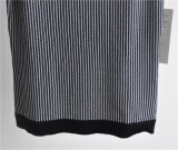 Свитер чисто цвета повелительниц Striped безрукавный