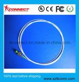 FC/APC de fibra óptica en forma de espiral