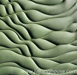Facciata esterna della costruzione verde per la pietra coltivata